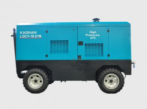 LGCY Two-Stage Diesel Screw Type Air Compressor